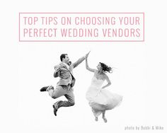 Top Tips On Choosing Your Perfect Wedding Vendors