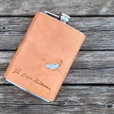 Flask. #leathercraft #fashion #mensfashion #handmade #propergentleman