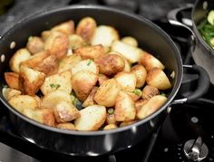 Sea Salt and Vinegar Potatoes