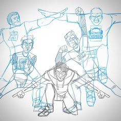 Sketched this out months ago and never finished it, don't know if I ever will but I wanted to share it anyway :) (pose is the Ginyu Force from DBZ) @markipliergram @jacksepticeye @matthiasiam @thelordminion777 @muyskerm_from_youtube #markiplier #jacksepticeye #matthias #lordminion777 #muyskerm #cartoon #sketch #fanart #ginyuforce #squadgoals