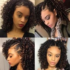 Everything You Should Know About Hair Care! - Useful Hair Care Tips Curly Hair Styles, Natural Hair Twist Out, Natural Hair Styles, Pelo Natural, Twist Hairstyles, Short Hairstyles, Hairstyles 2016, Short Haircuts, Stylish Haircuts
