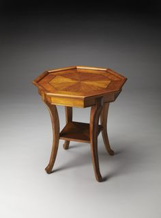 Kingston Antique Cherry End Table by Butler Specialty Company 2610011 Living Room End Tables, Dining Room Table, Dining Chairs, Tiffany Table Lamps, Bedside Table Lamps, Teak Table, Large Table, Solid Wood Furniture, Furniture Companies