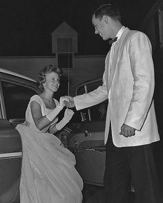vintage 1950s prom #prom