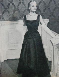 evening gown, Beatrijs 1951