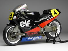 Racing Scale Models: Elf 5 R.Haslam 1988 by Max Moto Modeling (Model Factory Hiro) Honda 750, Honda Bikes, Racing Motorcycles, Vintage Motorcycles, Racing Bike, Auto Racing, Drag Racing, Grand Prix, Japanese Motorcycle