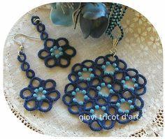 #tatting #chiacchierino #beads #pendant