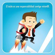 El éxito es una responsabilidad contigo mism@. #Citas #Frases @Candidman