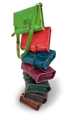 """Ledertaschen - """" Bella"""" - Handtasche aus Naturleder - ein Designerstück von…"""