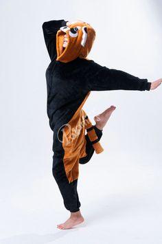 PajamasBuy - Onesies Hoodie christmas Black Racoon Costume Kigurumi Pajamas, $27.50 (http://www.pajamasbuy.com/onesies-hoodie-christmas-black-racoon-costume-kigurumi-pajamas/)