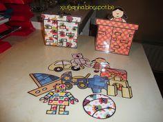 Sorteerspel: Welk speelgoed moet in welke schoorsteen?