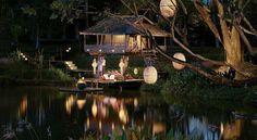 Reserve private dinner, Four Seasons Resort Chiang Mai