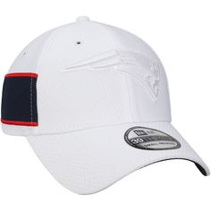 74be444ffb6 Men s New England Patriots New Era White Kickoff 39THIRTY Flex Hat