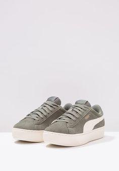 1433eac3130aa3 VIKKY PLATFORM - Sneakers laag - agave green   Zalando.be 🛒