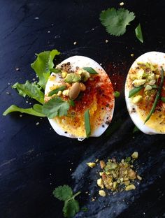 Smoky Hard Boiled Eggs Recipe