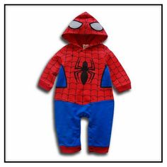 Spiderman Baby Clothes