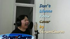 Maroon 5 - Don't Wanna Know (cover by StrumCharm) Singing Impression Maroon 5, Acoustic, Singing, Songs, Cover, Fun, Song Books, Hilarious