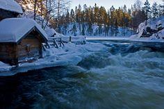 Kitkajoen Myllykoski Kuusamo Finland