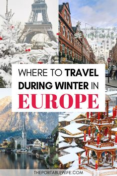 30 Best Winter City Breaks in Europe Looking for Europe winter travel destinations? This list of 30 best winter city breaks in Europe ha Winter Sun Destinations, Europe Destinations, Best Winter Vacations, Christmas Destinations, Backpacking Europe, Europe Travel Guide, Christmas Travel, Holiday Travel, Christmas In Europe