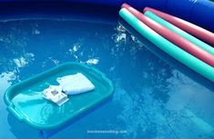 Bon DIY Floating Table For The Pool