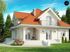 Проекта дома Z18 - фото 1
