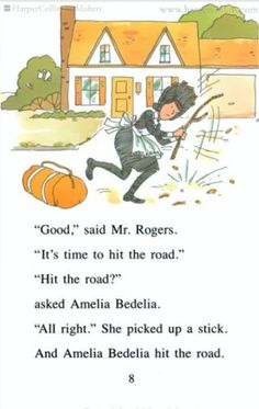 Read Amelia Bedelia with @Katherine Campbell... look forward to reading them with grandbabies one day.  Such fun stories.