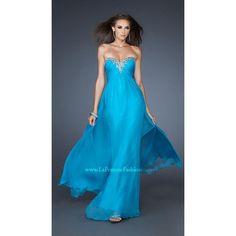 La Femme 18909 Tropical Turquoise 10 - Move Over Princess