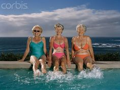 """I usually don't pin pictures of """"babes"""" in bathing suits - but for these ladies I will make an exception!"""