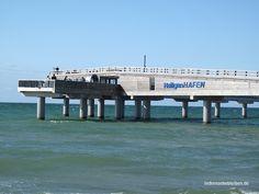 Die Seebrücke von Heiligenhafen