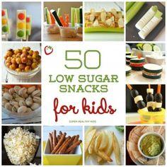 50+Low+Sugar+Snacks+for+Kids