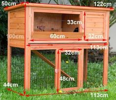 Easy to Build Rabbit Hutch - Bing Images