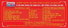 www.facebook.com/TuyenSinhDongDo Trường TCCN và QT Đông Đô - liên hệ 0978763828 Liên tục khai giảng lớp mới Trung cấp chính quy hệ 1 năm ngành hành chính văn thư, kế toán,TV-TB trường học Periodic Table, Facebook, Tv, Periotic Table, Television Set, Television