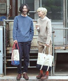 Fashion Couple, Look Fashion, Autumn Fashion, Fashion Outfits, Korean Fashion Men, Mens Fashion, Librarian Style, Hipster Looks, Lifestyle Clothing