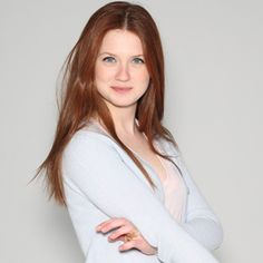 Bonnie Wright has Gorgeous hair.