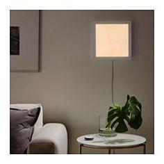 FLOALT Led-lichtpaneel m draadloze sturing, dimbaar, wit spectrum - 30x30 cm - IKEA