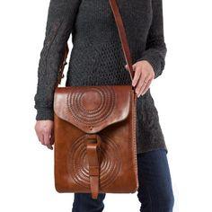 guatemala bag hand tooled leather.