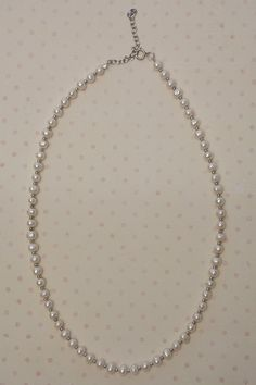 Fresh Water Pearl 925 Sterling Silver Necklace