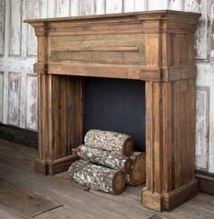 New Totally Free Faux Fireplace mantel Concepts Everyone loves a very good faux . - New Totally Free Faux Fireplace mantel Concepts Everyone loves a very good faux fireplace , let us - Reclaimed Wood Fireplace, Faux Fireplace Mantels, Wood Mantels, Rustic Fireplaces, Fireplace Wall, Fireplace Surrounds, Fireplace Design, Faux Mantle, Decorative Fireplace