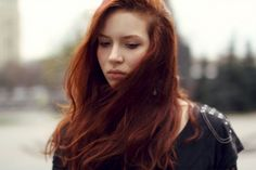 Obsessed with red hair right now! Must dye ASAP!