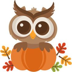 Fall Owl SVG scrapbook cut file cute clipart files for silhouette cricut pazzles free svgs free svg cuts cute cut files Fall Owl, Pumpkin Images, Fall Clip Art, Thanksgiving Art, Autumn Painting, Cute Clipart, Autumn Crafts, Owl Art, Pointillism