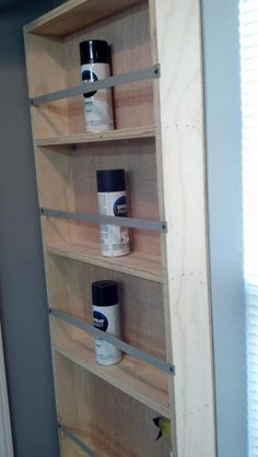 Spray Paint Cabinet