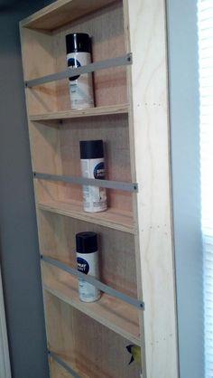 Spray Paint Cabinet