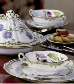 Tea Time (beautiful Spode China) - Ana Rosa