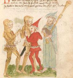 Weltchronik. Sibyllenweissagung. Antichrist  BSB Cgm 426, Bayern,  3. Viertel 15. Jh  Folio 151