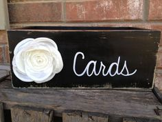Distressed Black and White Wedding Cards Box Wooden Black Wedding Cards Holder