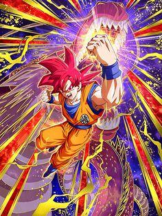[The Godly Ki Within] Super Saiyan God Goku/Dragon Ball Z: Dokkan Battle