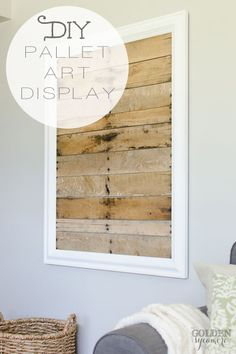 How I Jumped on the Pallet Art Bandwagon! :: Hometalk