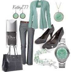 Stitch Fix- Love the color, love the shoes, pants, shirt, and cardigan. accessories are alright too! I love the entire look