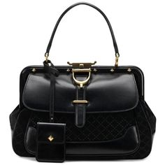 i need this for my bday GUCCI Lady Stirrup Handbag found on Polyvore