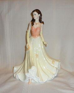 """COALPORT Ladies of Fashion """"CHERYL"""" Figurine BONE CHINA 2005 HTF in Pottery & Glass, Pottery & China, China & Dinnerware   eBay"""