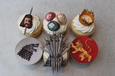 Game of Thrones cupcakes!